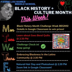 Black History Month -- This Week Events Image
